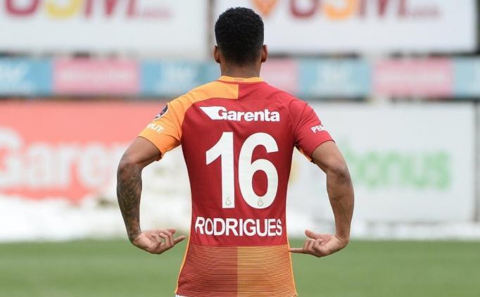 İşte Galatasaray'ın yeni transferi Rodrigues'in forma numarası
