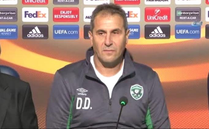 Ludogorets teknik direktöründen Başakşehir açıklaması!