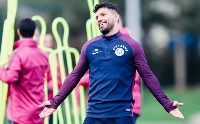 Sergio Agüero sahalara çabuk döndü