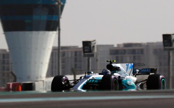 Birleşik Arap Emirlikleri'nde ilk cep Bottas'ın