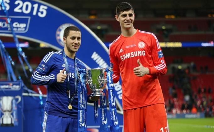 Chelsea'ye ikinci Real Madrid darbesi! Courtois...