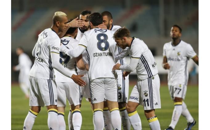 Fenerbahçe, Partizani karşısında rahat kazandı!