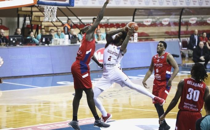 Gaziantep Basketbol, Elan Chalon'u geçemedi!