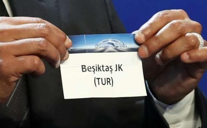 Beşiktaş'ın Şampiyonlar Ligi'nde muhtemel rakipleri