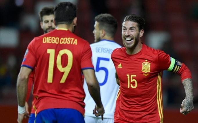 İspanya 4 İsrail 1 Maç Özeti VE Golleri 25 Mart