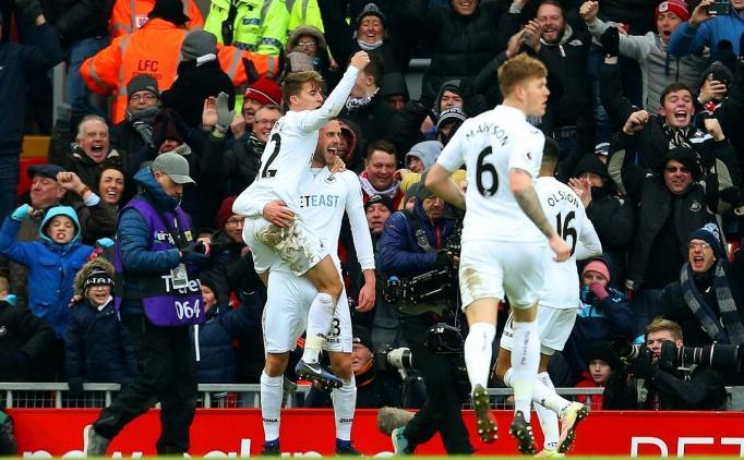 Liverpool 2 Swansea City 3 Maç Özeti Ve Golleri 21 Ocak