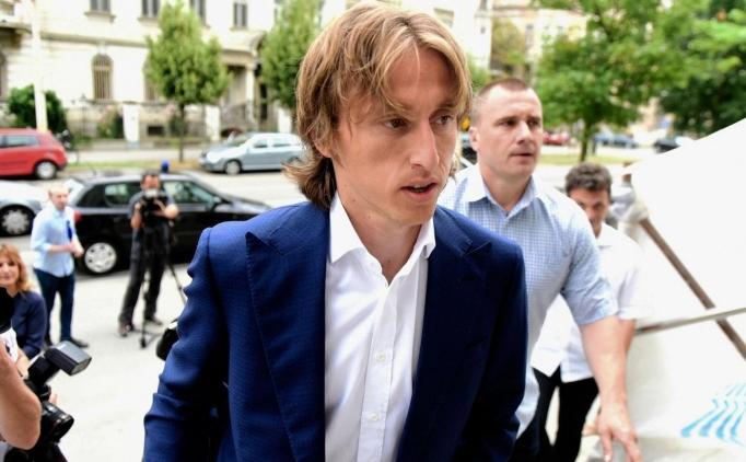 Luka Modric, Hırvatistan'da göz altına alındı!