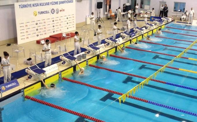 Turkcell Kısa Kulvar Türkiye Yüzme Şampiyonası'nda kazananlar