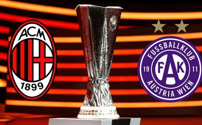 Austria Wien Milan maçı hangi kanalda saat kaçta?