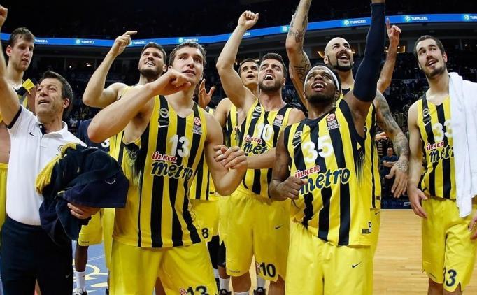 'Fenerbahçe, %93.3 Final Four'da...'