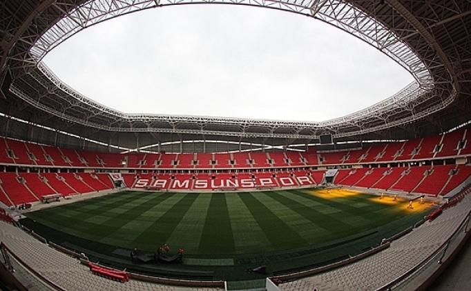 Samsunspor, yeni stadını açıyor