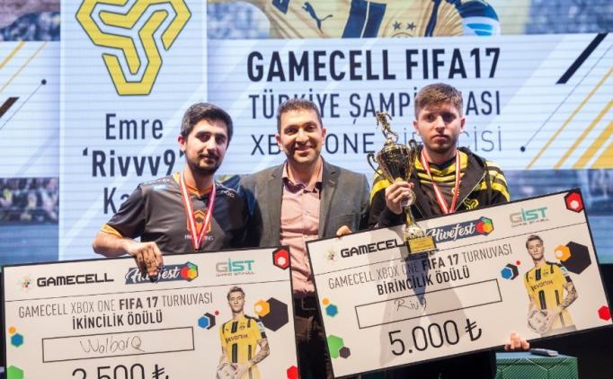 Gamecell FIFA 17 Finali'nde goller doksana atıldı