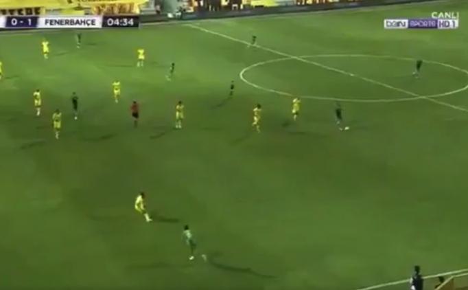 Fenerbahçe'nin golünde ofsayt tartışmaları