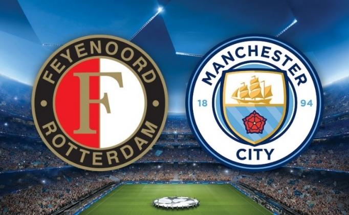 Feyenoord Manchester City maçı hangi kanalda yayınlanacak?