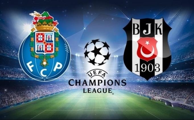 Saat: Porto-Beşiktaş kaçta? Beşiktaş maçı hangi kanalda?