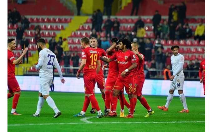 Kayserispor'un iki önemli ismi Beşiktaş maçında yok!