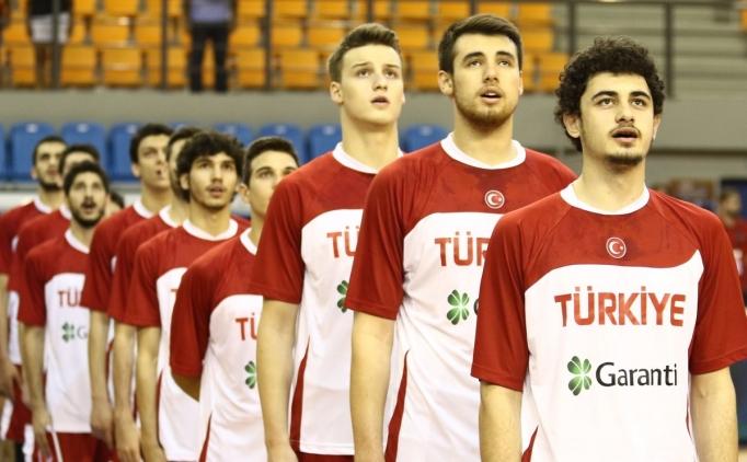 U20 Erkek Basketbol Takımı Fransa'ya yenildi
