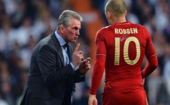 Robben'in Heynckes mutluluğu; 'İyi ki döndü'