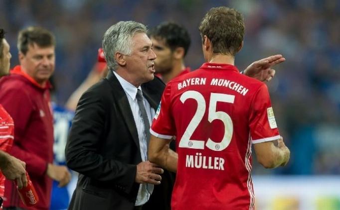 Müller, Ancelotti'ye sahip çıktı: 'Tek onun suçu değil'