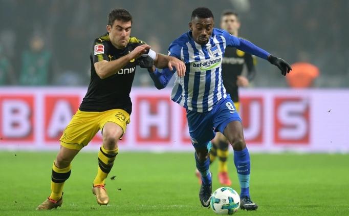 Hertha Berlin 1 Borussia Dortmund 1 Maç Özeti VE Golleri 20 Ocak