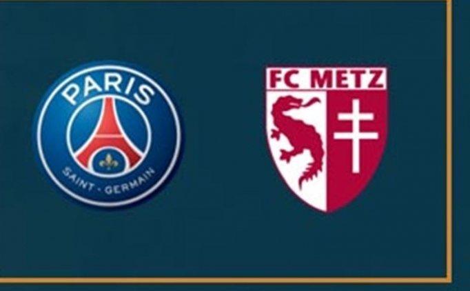 PSG(Paris Saint-Germain) Metz MAÇI CANLI hangi kanalda saat kaçta?