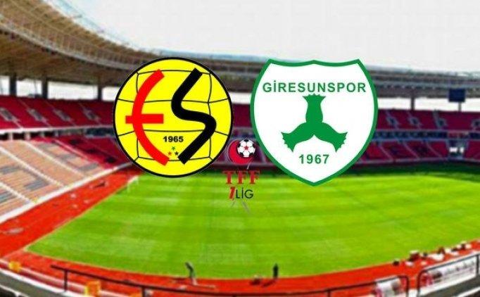 Eskişehirspor Giresunspor maçı canlı hangi kanalda saat kaçta?