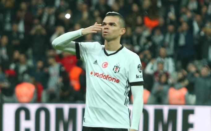 Pepe: ''Taraftarımız bizden mücadele bekliyor''