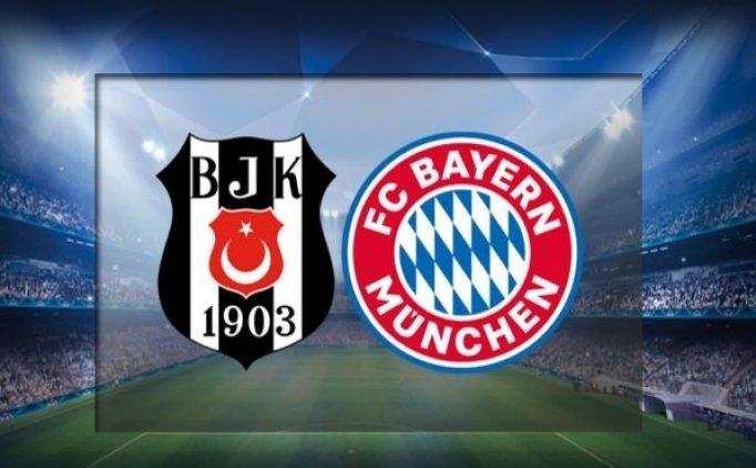 Beşiktaş Bayern Münih maçını şifresiz veren kanallar hangileri?