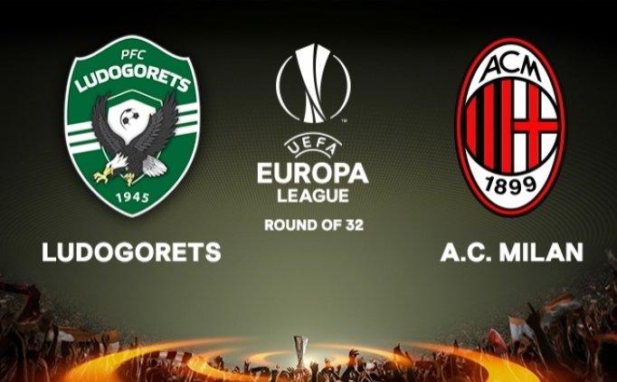 Ludogorets Milan  maçı canlı hangi kanalda saat kaçta?