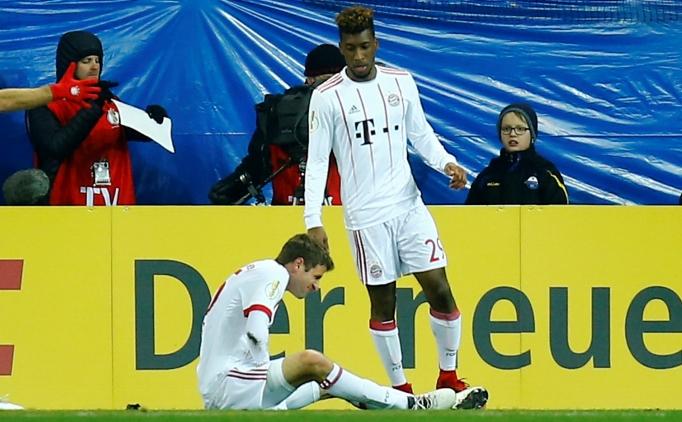 Beşiktaş'ın rakibi Bayern Münih'te Müller sakatlandı