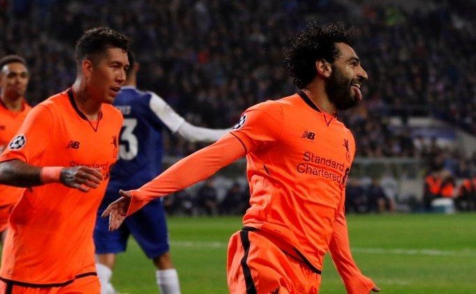 Liverpool 5 golle tur kapsını sonuna kadar açtı