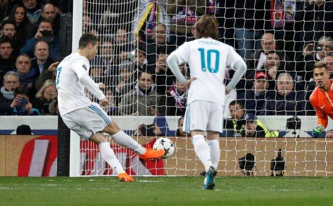 Cristiano Ronaldo'nun penaltısı için; 'Sihir'