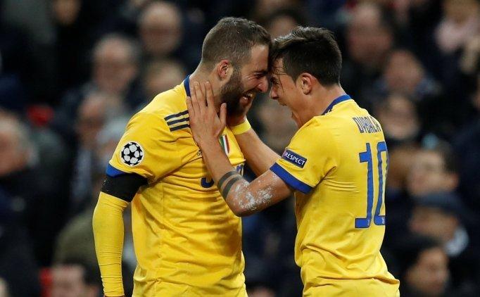 Juventus Wembley'de çeyrek final biletini kaptı