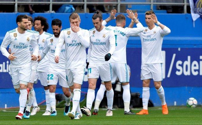Cristiano Ronaldo, Eibar'ın umutlarını KÜL etti!