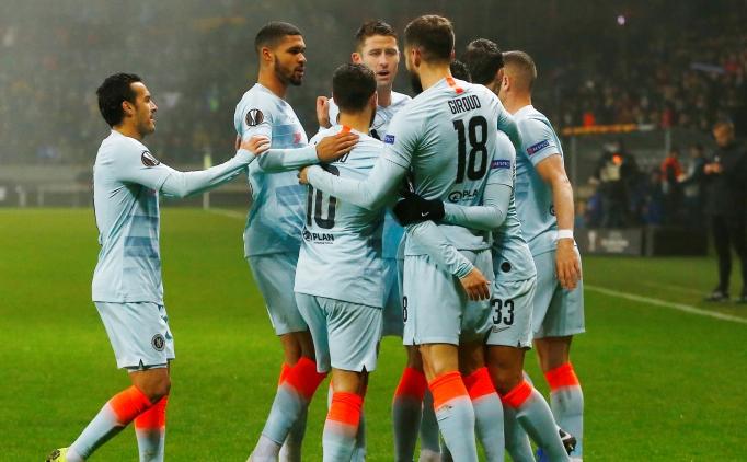 UEFA Avrupa Ligi Chelsea'ye zayıf geldi