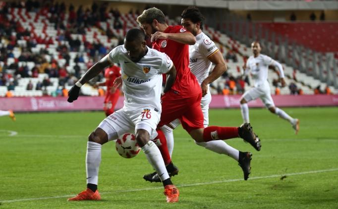 Antalyaspor 0 Kayserispor 2 Maç özeti Ve Golleri 17 Ocak