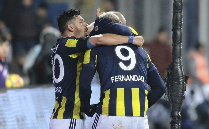 Fenerbahçe'de zirveye tırmanıyor