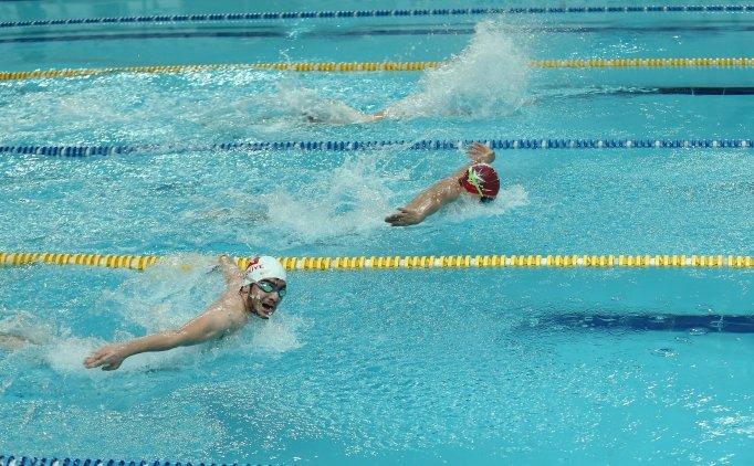 Özel Sporcular Yüzme Milli Takımı kampa girdi