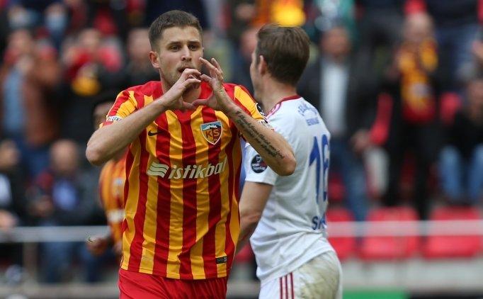 Kayseri'de gol düellosuna Kravets imzası