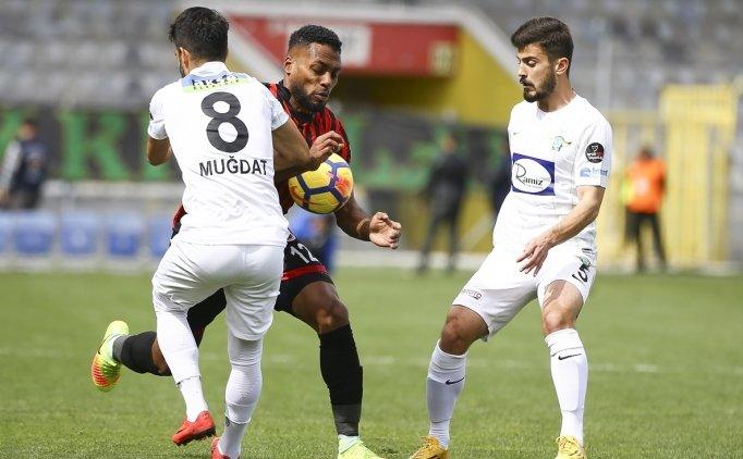 Gençlerbirliği 1 Akhisarspor 1 Maç Özeti Ve Golleri 17 Mart