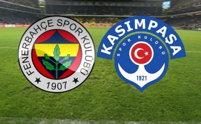 Fenerbahçe Kasımpaşa maçı canlı izle hangi kanalda saat kaçta?