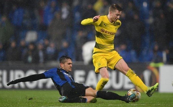 Atalanta sonunu getiremedi, Dortmund turladı!