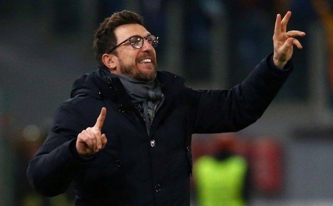 Eusebio Di Francesco: 'Cengiz'in parlak bir geleceği var'