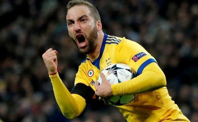 Higuain: 'Oynadığım en iyi kulüp Juventus'