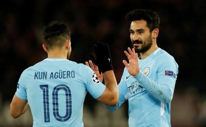 Manchester City, İsviçre'de güle oynaya kazandı!