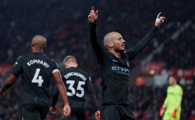 Stoke City 0 Manchester City 2 Maç Özeti VE Golleri 12 Mart