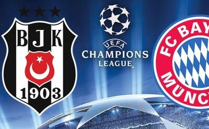 Beşiktaş Bayern Münih maçı hangi kanalda? Beşiktaş maçı şifresiz mi?