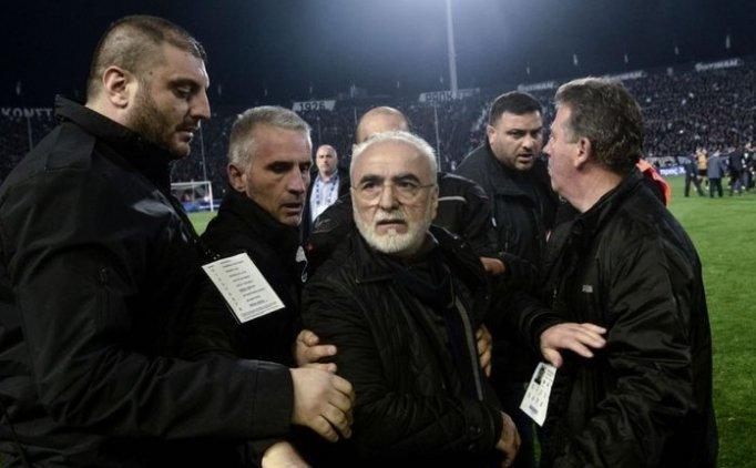 PAOK'un silahlı başkanından özür geldi