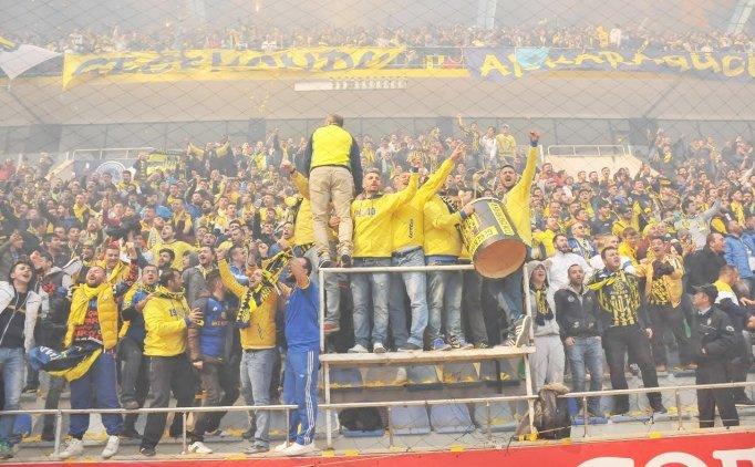 Ankaragücü'nden Gençlerbirliği'ne kutlama