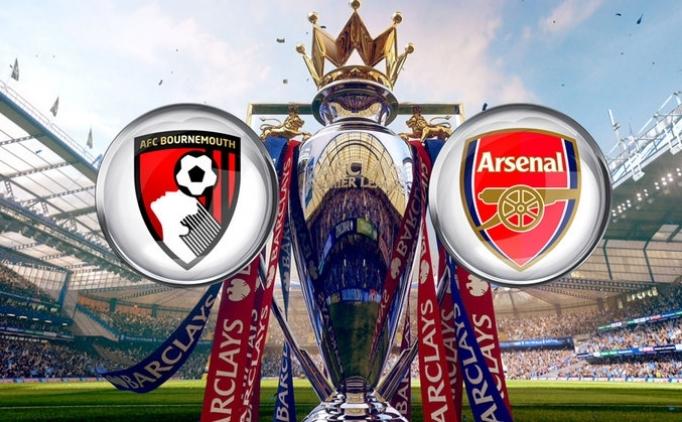 Bournemouth Arsenal maçı CANLI hangi kanalda saat kaçta?